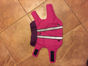 Pink Dog Coat - Size Small