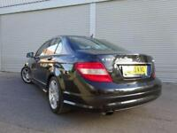 2010 10 MERCEDES-BENZ C CLASS 1.8 C180 CGI BLUEEFFICIENCY SPORT 4D AUTO 156 BHP