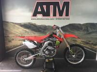 HONDA CRF250 2015 MOTOCROSS BIKE, NEW DECALS, NEW CHAIN & SPROCKS (AT MOTOCROSS)