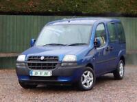 2003 03 FIAT DOBLO 1.9 JTD ELX 5D 100 BHP DIESEL