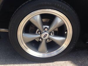 """MUSTANG Bullit rims and tires 17"""""""