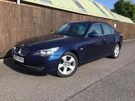 BMW 520 2.0TD auto d SE..FULL LEATHER INTERIOR..FULL HISTORY..