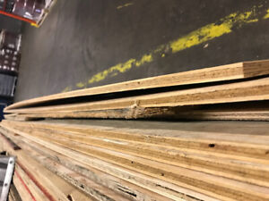 Plywood for sale full sheets and half sheets 1/2 inch