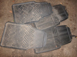 Two Sets of Rubber Car Mats