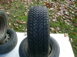 Used Goodyear Ultra Grip Winter Tire - P185/60R14