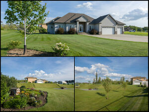 Country lifestyle...near the city! 1.13 acres, 24x24 shop +