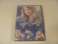 Brand New Taylor Swift Just For You DVD