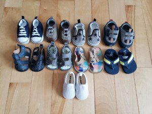 Size 1 (0-3 months) toddler shoes