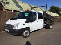 Ford Transit Tipper 2.2TDCi ( 100PS ) 350L Double Cab LWB..1 OWNER..FSH.