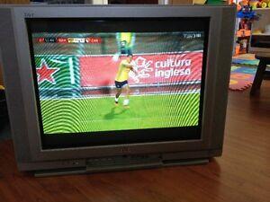 Télé JVC 21 pouces avec télécommande
