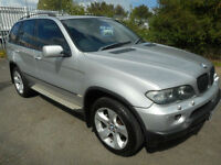 BMW X5 SPORT PETROL AUTO 4X4 5 DOOR 3.0 LEATHER REAR ENTERTAINMENT