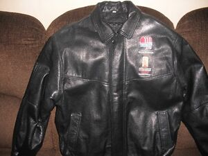 2010 IIHF World Junior Championship Leather Jacket London Ontario image 1