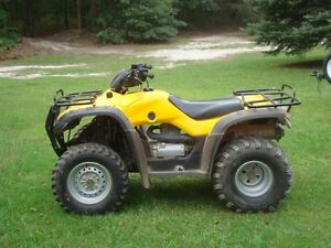 wanted to buy 2001-2006 honda fourtrax 350 rancher parts or repa