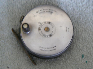 VINTAGE HARDY BROTHERS THE PERFECT FLY FISHING REEL West Island Greater Montréal image 2