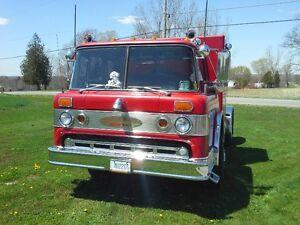 customized fire truck