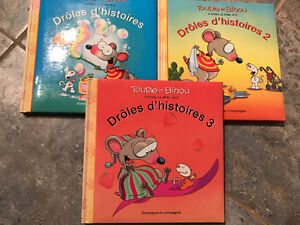 """3 livres """"Toupie et Binou"""""""