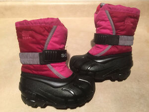 Toddler Sorel Insulated Winter Boots Size 8 London Ontario image 1
