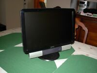 Dell Monitor plus external speakers