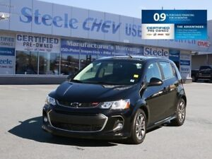 2018 CHEVROLET SONIC RS - Bluetooth, Sunroof, Alloys and 0.9% Fi