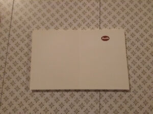 Audi Pad of Paper