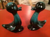 blue mountain pottery pair of Ducks