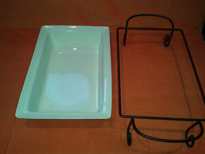 NEW Ceramic bakeware with support-rectangular 4.5 l (15 inch)
