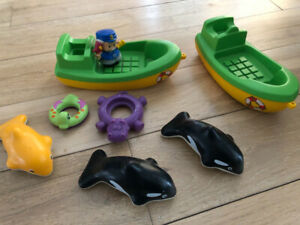 Bateau Little People Fisher Price