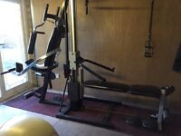 Marcy Multi Gym, Exercise, weights, weightlifting