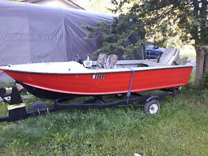 14ft aluminum boat with 50hp