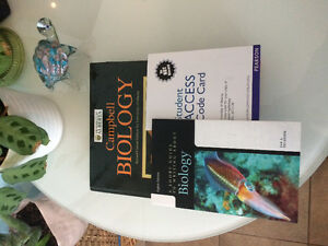 BIOLOGY TEXTBOOKS U of A: Campbell, Meneely, Becker, Moran