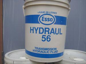 """Esso Hydraul """"56"""" Hydraulic/Transmission Fluid (20L Pail)"""