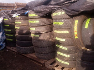 Used Tires sizes 16.5  17.5  19.5  22.5