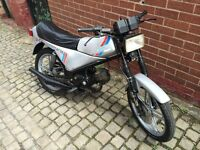 Tomos moped geared learner legal 50cc mot 1987 rare ideal for motor home