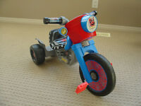 spider man tricycle
