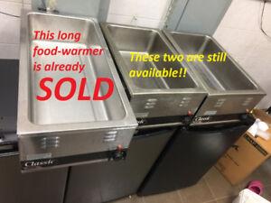 Classic APW Wyott FOOD WARMERS, MODEL W-43V, W-3V For Sale !!!!!