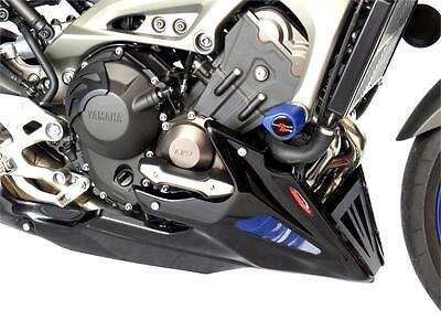 YAMAHA FJ-09 TRACER (FITS WITH ENGINE PROTECTORS) CARBON LOOK-SILVER BELLY PAN