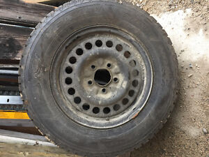 Steel Wheels with tires for Sale.