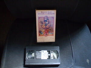 vhs bruce lee/enter the dragon (original de 1973)
