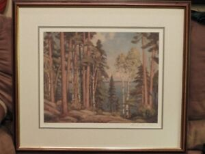 Lithograph Print by Canadian Artist Frank Panabaker