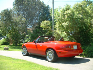 One of a kind 1990 Mazda Miata