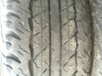All season Dunlop AT20 tires. Size 245/75/16