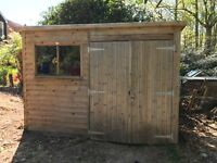 Wooden Garden Shed 10'x8'