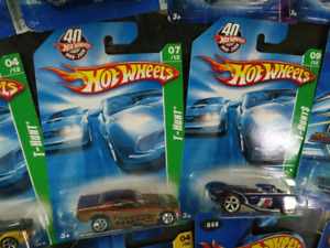 HotWheels Camaros & Mustangs, Treas. Hunts, 1st Eds,, variations