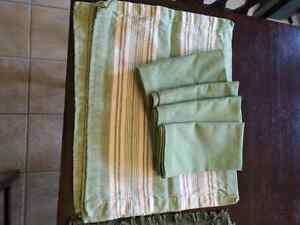 PIER ONE cotton placemats and napkins