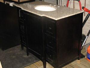 Granite Countertop Vanity with Sink new NOS