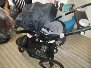 Babyrend Jogger Stroller with Car Seat Brand New