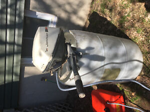 6 hp. Johnson outboard