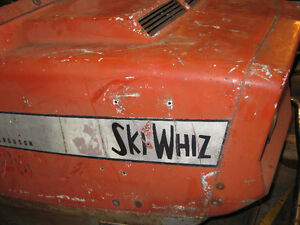 Vintage Ski Whiz  for sale for parts as well as other sled parts