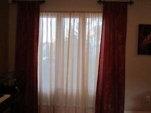 voilage pour grande fenêtre
