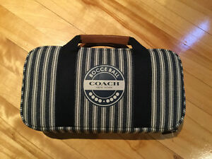 Authentic Coach Bocce Ball Set NWT
